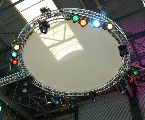 cirkel lampen hoog
