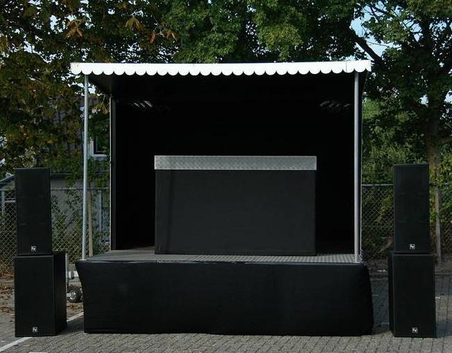 buitenpodium klein podium Liquidx