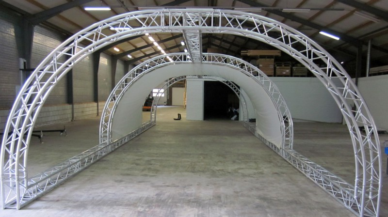 Liquidx projectietunnel frame
