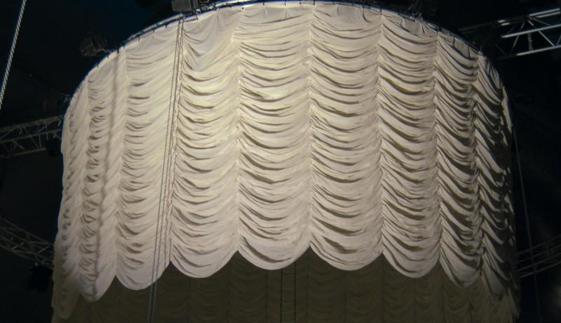 Wit wolkenstore gordijnen