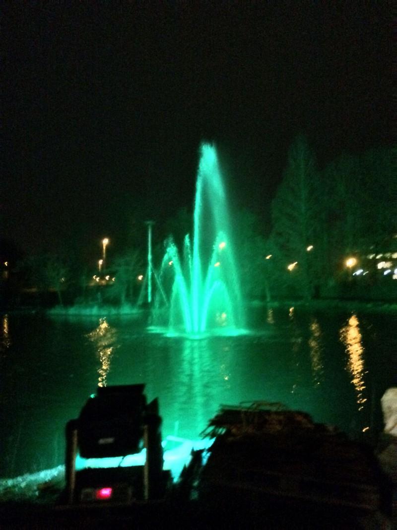licht fontein Liquidx