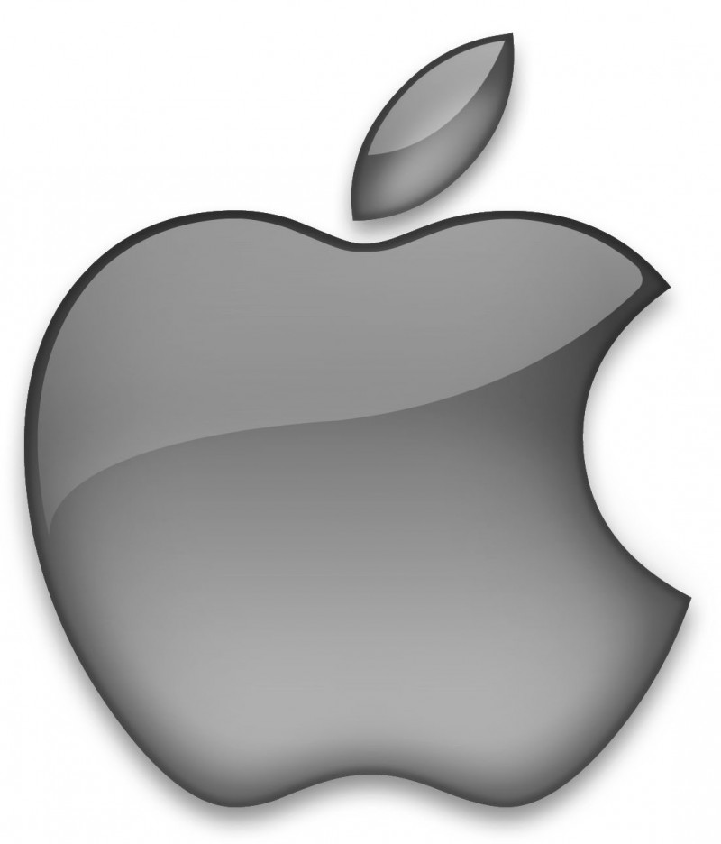 silver apple logo apple picture
